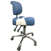 Arbetsstol ERGONOMICA Italia färgval - Arbetsstol ERGONOMICA blå/vit