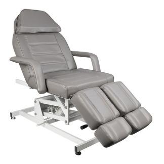 Behandlingsstol Fotvårdstol med 1 motor i grå - Fotvårdstol med 1 motor i grå