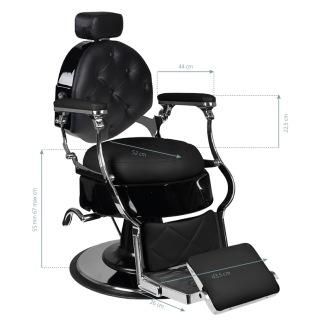 Barber Chair BLACK - Barber Chair BLACK