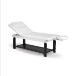 Massage Spa bänk med huvudstöd