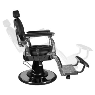 Barber Chair RETRO II silver eller gyllene base - Barber Chair RETRO II SILVER