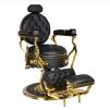 Barber Chair CESAR svart/gold - Barber Chair CESAR svart/gold