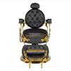 Barber Chair CESAR svart/gold