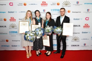 Årets Unga Företagare 2018 Stenungsund, Tjörn, Orust. Foto:Daniel Friström