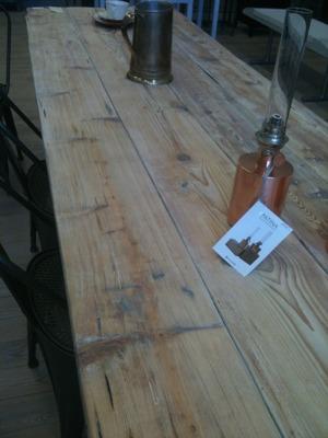 Bordet på Skulpturfabriken
