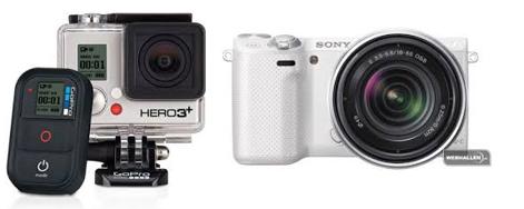 Go Pro Hero 3+    &     Sony NEX5RK 18-55mm