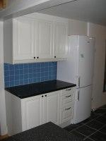 Nytt kök, golv och kakel