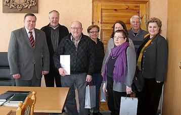Vårt besök hos Borgmästaren i Balvi