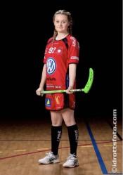 Maja Karlsson. Forward i SOLFJÄDERNS IBK