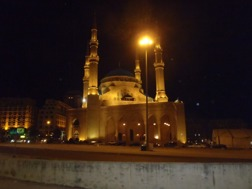 The new Mosque in Beirut