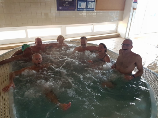 "Glen - ""It was a great camp but most of the time they spent in the jacuzzi"""