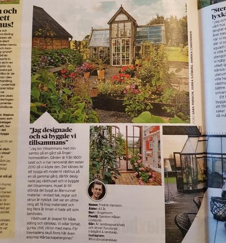 Viivilla gjorde ett reportage om växthuset som publicerades i februari 2018.