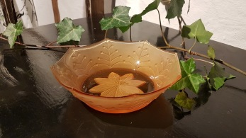 Glasskål, 40-talet - Glasskål