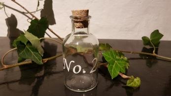 Flaska med kork -