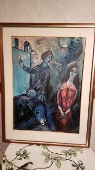 Chagall, tryck från shorewood -