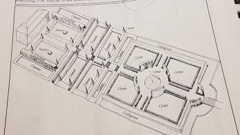Jag återskapade en bild över hur släktgården Skillinge säteris trädgård såg ut när Linné besökte och beskrev trädgården 1749.  Examensarbete Alnarp 2002