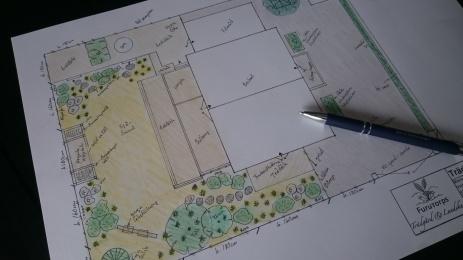 Illustrationsplan/Trädgårdsförslag