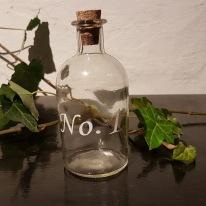 Flaska med kork