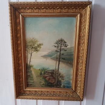 Landskapsmålning 1800-tal -