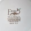Fisktallrik Johnson Bros