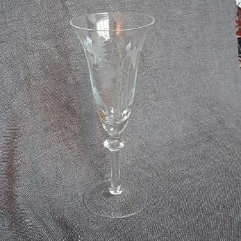 Blåklocka, Champangeglas -