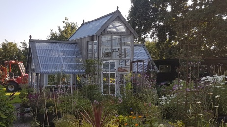Växthuset byggdes 2016.