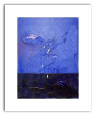 Mörkt vatten  (papper 48x33 bild 37x 28cm 10ex)