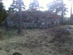 Stensö Borg , inre mringmuren