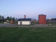 På Högstad Gård produceras Biogas, i första hand används gasen som fordonsbränsle.