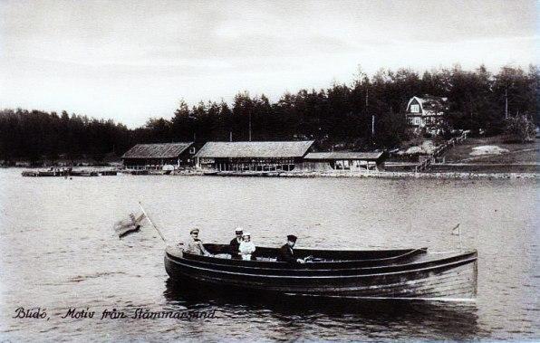 Stämmarsund - Blidö 1920-tal