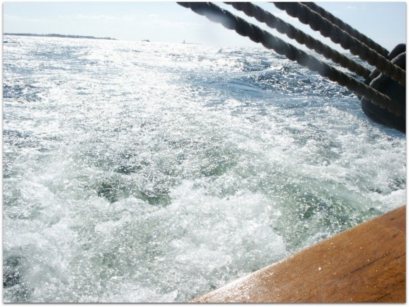 9,5 knots - Wow