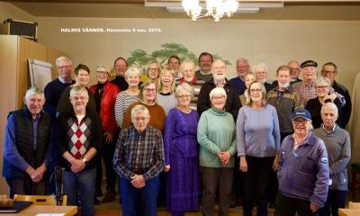 27 medlemmar kom till mötet (foto Bengt Eller)