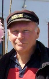 Håkan Hedberg ombord på Helmi