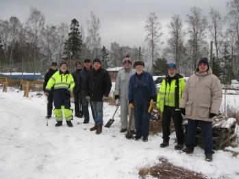 Nya bockar placeras i Bromskär