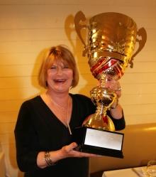 Lynne Walder, winner in 2017