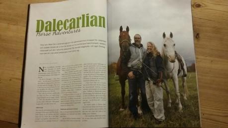 Fyra mittuppslag i novembernumret av tidningen Lucky Rider (5/2017)! Ett varmt tack till Åsa Wikberg som både skrev och fotade reportaget.