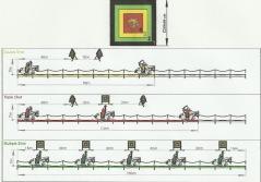 I Raidbanan (Raid track, f.d Koreansk gren) behöver ni kunna kombinera precision med ett snabbare galopptempo än i den Ungerska grenen.