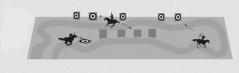 Jaktbanan (Hunt track, f.d Polsk jaktbana) ställer större krav på både ryttare och häst då banorna delvis eller helt är ostängslade. Här är det ert samspelet som avgör om ni lyckas!