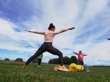 Yoga: andningen, fokuset, balansen och harmonin samtrörelser som ger långa och uthålliga muskler, precis vad vi behöver i det Beridna bågskyttet! Foto: cyroo.se
