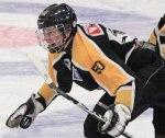 Stor glädje i Ishallen när Tobias Lundqvist gör sitt första A-lags mål