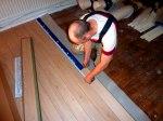 Vi är nogranna med mätningen av golvet