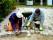 Stenläggning, stensättning, gatsten