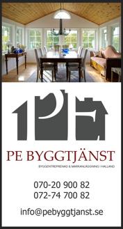 PE Byggtjänst Falkenberg erbjuder renovering hus/villa, badrum/kök, lägenhet/fastigheter & renoverar i hela Halland, Halmstad, Varberg, Kungsbacka, Hylte & Laholm