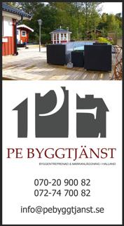 PE Bygg & anläggning i Falkenberg  - byggentreprenör med totalentreprenad i Falkenberg, Kungsbacka, Varberg, Halmstad, Hylte, Laholm hela Halland med omnejd