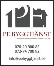 PE Byggtjänst i Falkenberg – byggentreprenör med lokala hantverkare som ger rotavdrag vid renovering, bygg- & snickeriarbeten i Halland, Halmstad, Varberg, Kungsbacka, Hylte & Laholm
