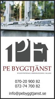 Snickeri, hantverk, fönsterbyte & fönstermontage i Halmstad, Falkenberg & Varberg