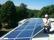 Montör av solceller på bostadsrättsförening i Falkenberg
