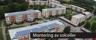 Montering av solceller på bostadsrätter Gruebäck i Falkenberg - PE Byggtjänst certifierad montör av Schletter solceller