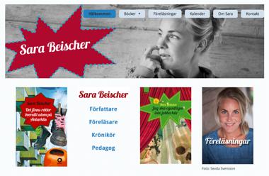 Sara Beischer, författare