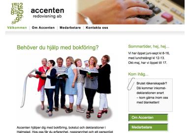 Accenten Redovisning AB, Halmstad
